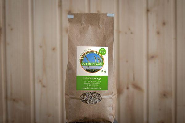 0,8 kg Waldstaudenkorn Reis - Landwirt Kastenberger