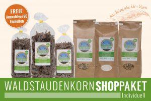 Waldstaudenkorn SHOP-Paket Individuell